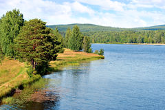 River in sweden Stock Photos