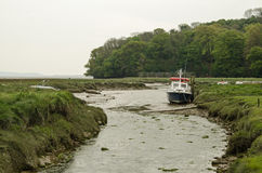 River Taf estuary, Carmarthenshire Stock Images