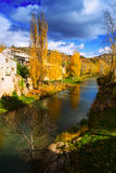 River Tajo at Trillo in autumn Royalty Free Stock Photography