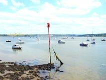 River Tamar, Cornwall. Royalty Free Stock Images