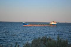River tanker Royalty Free Stock Photo