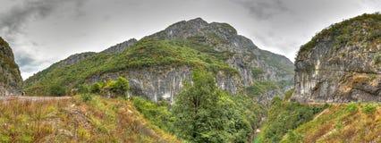 River Tara canyon, Montenegro Stock Photography