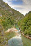 River Tara canyon, Montenegro Royalty Free Stock Image