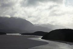 River in Tasmanian mountains Stock Photos
