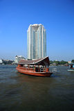 River taxi,Bangkok,Thailand Royalty Free Stock Photography