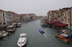 River taxi in Venice!!. Ancient city in Italy Stock Images