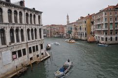 River taxi !!. Venice city in Italy Stock Photo