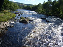River Tay, Perthsire in Scotland  Stock Photos