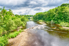 River Tees County Durham in England Royalty Free Stock Images