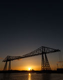 River Tees Transporter bridge Stock Photos