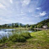 River Teith Callander, Scotland. Royalty Free Stock Photos