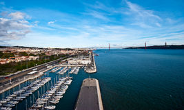 River Tejo Royalty Free Stock Photo