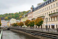 River Tepla, Karlovy Vary Royalty Free Stock Photos