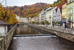 River Tepla, Karlovy Vary Stock Photos