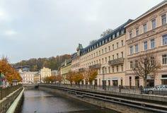 River Tepla, Karlovy Vary Royalty Free Stock Image