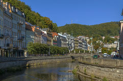 River Tepla, Karlovy Vary Royalty Free Stock Photos