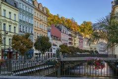 River Tepla in Karlovy Vary Royalty Free Stock Photo
