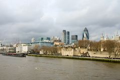 River Thames Royalty Free Stock Images