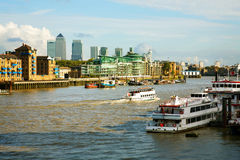 River Thames Royalty Free Stock Photo