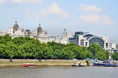 River Thames Royalty Free Stock Photos