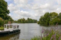 River Thames bends near Wargrave Stock Photos