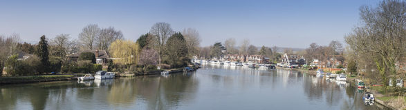 River Thames at Bourne End Stock Image