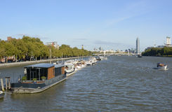 River Thames at Chelsea, London, England Stock Images