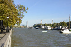 River Thames at Chelsea, London, England Royalty Free Stock Photography