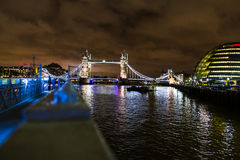 River Thames Cityscape Royalty Free Stock Photos
