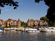 River Thames, Cookham, England Royalty Free Stock Images