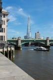 River Thames Embankment London Royalty Free Stock Image