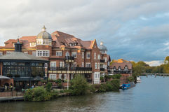 River Thames at Eton, Berkshire Royalty Free Stock Photography
