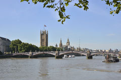 River Thames at Lambeth Bridge, London, England Stock Photography