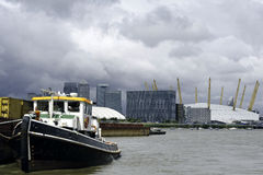 River thames, London, Royalty Free Stock Images