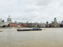 River Thames in London Stock Photo