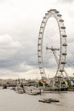 River Thames and the London Eye Royalty Free Stock Photography