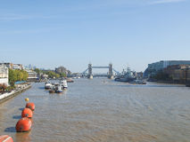 River Thames in London Royalty Free Stock Photography