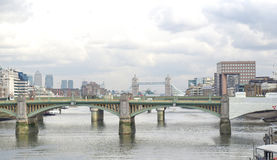 River Thames London Royalty Free Stock Photo