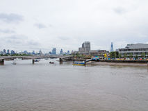 River Thames in London Royalty Free Stock Images