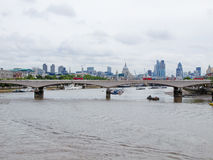 River Thames in London Royalty Free Stock Photo