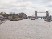 River Thames in London Stock Images