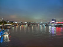 River Thames in London Royalty Free Stock Photos