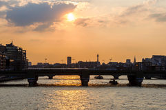 The river Thames in London. UK stock images
