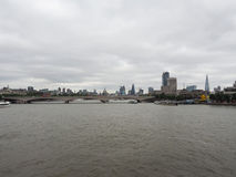 River Thames in London Stock Image