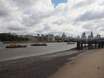 River Thames in London Royalty Free Stock Image