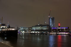 The River Thames, London, UK Royalty Free Stock Photos