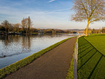 River Thames Path in Henley, England Stock Photography