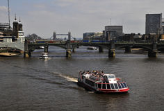 River Thames - sightseeing Royalty Free Stock Photo