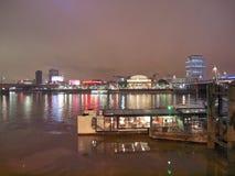 River Thames South Bank, London Stock Photography