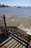 River Thames Steps Royalty Free Stock Photography